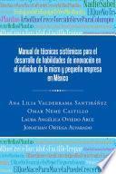 libro Manual De Técnicas Sistémicas Para El Desarrollo De Habilidades De Innovación En El Individuo De La Micro Y Pequeña Empresa En México