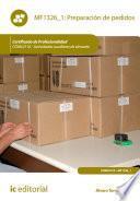 libro Preparación De Pedidos. Coml0110
