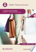 libro Técnicas De Venta. Comt0411