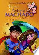 libro 4 Poemas De Antonio Machado Y Una Tarde De Lluvia