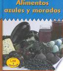 libro Alimentos Azules Y Morados