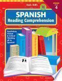 libro Basic Skills Spanish Reading Comprehension, Level 4, Grades 6   12