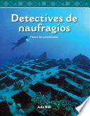 libro Detectives De Naufragios (shipwreck Detectives)