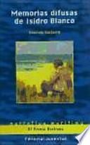 libro Memorias Difusas De Isidro Blanco