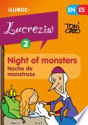 libro Night Of Monsters / Noche De Monstruos (lucrecia, El Cómic #2)