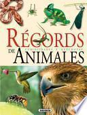 libro Récords De Animales