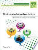 libro Técnicas Administrativas Básicas