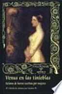 libro Venus En Las Tinieblas