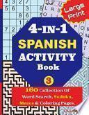 libro 4-in-1 Spanish Activity Book, 3