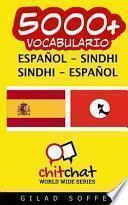 libro 5000+ Espaol Sindhi Sindhi Espaol Vocabulario