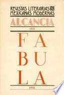 libro Alcancía, 1933. Fábula, 1934