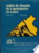 libro Análisis De Situación De La Agroindustria En El Perú