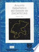 libro Anuario Estadístico. Zacatecas 1992