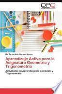 libro Aprendizaje Activo Para La Asignatura Geometría Y Trigonometrí