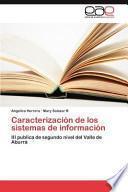 libro Caracterización De Los Sistemas De Información