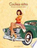 libro Coches Retro Libro Para Colorear Para Adultos 1