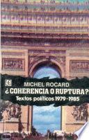 libro Coherencia O Ruptura?