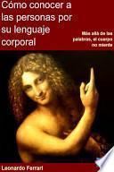 libro Cómo Conocer A Las Personas Por Su Lenguaje Corporal