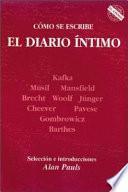 libro Cómo Se Escribe El Diario íntimo