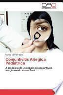 libro Conjuntivitis Alérgica Pediátrica