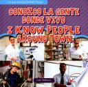 libro Conozco La Gente Donde Vivo / I Know People Around Town