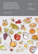 libro Contenidos Transversales Y Complementarios A Los Programas De Alimentación, Nutrición Y Gastronomía De Educación Infantil Y Primaria. El Gusto Es Mío
