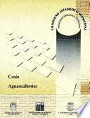 libro Cosío, Aguascalientes. Cuaderno Estadístico Municipal 2000