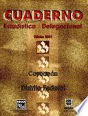 libro Coyoacán Distrito Federal. Cuaderno Estadístico Delegacional 2001