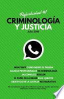 libro Criminología Y Justicia