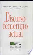 libro Discurso Femenino Actual