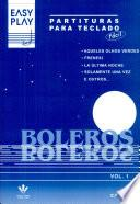 libro Easy Play   Boleros Vol. 1