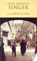libro El Certificado