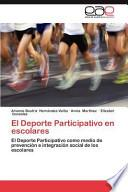 libro El Deporte Participativo En Escolares