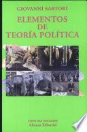 libro Elementos De Teoría Política