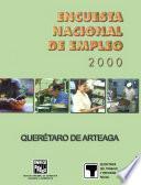 libro Encuesta Nacional De Empleo 2000. Querétaro De Arteaga