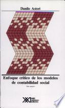 libro Enfoque Crítico De Los Modelos De Contabilidad Social