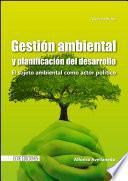 libro Gestión Ambiental Y Planificación Del Desarrollo