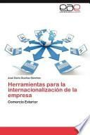 libro Herramientas Para La Internacionalización De La Empres