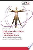 libro Historia De La Cultura Moderna Y Contemporanea