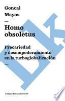 libro Homo Obsoletus