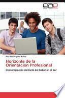 libro Horizonte De La Orientación Profesional