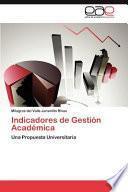 libro Indicadores De Gestión Académic