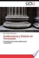 libro Instituciones Y Estado En Venezuela