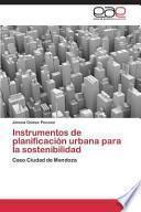 libro Instrumentos De Planificación Urbana Para La Sostenibilidad