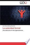 libro La Autoridad Formal
