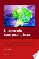 libro La Memoria Transgeneracional