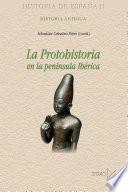 libro La Protohistoria En La Península Ibérica