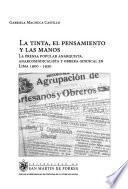 libro La Tinta, El Pensamiento Y Las Manos