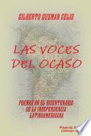 libro Las Voces Del Ocaso