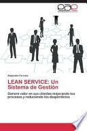 libro Lean Service
